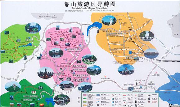 韶山旅游景点地图
